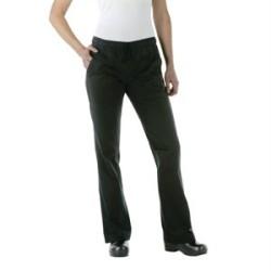 Pantalon professionnel noir dame