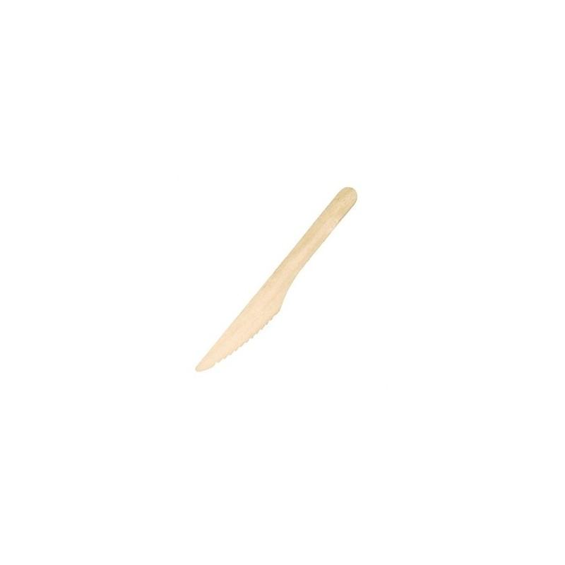 Couteaux en bois jetables