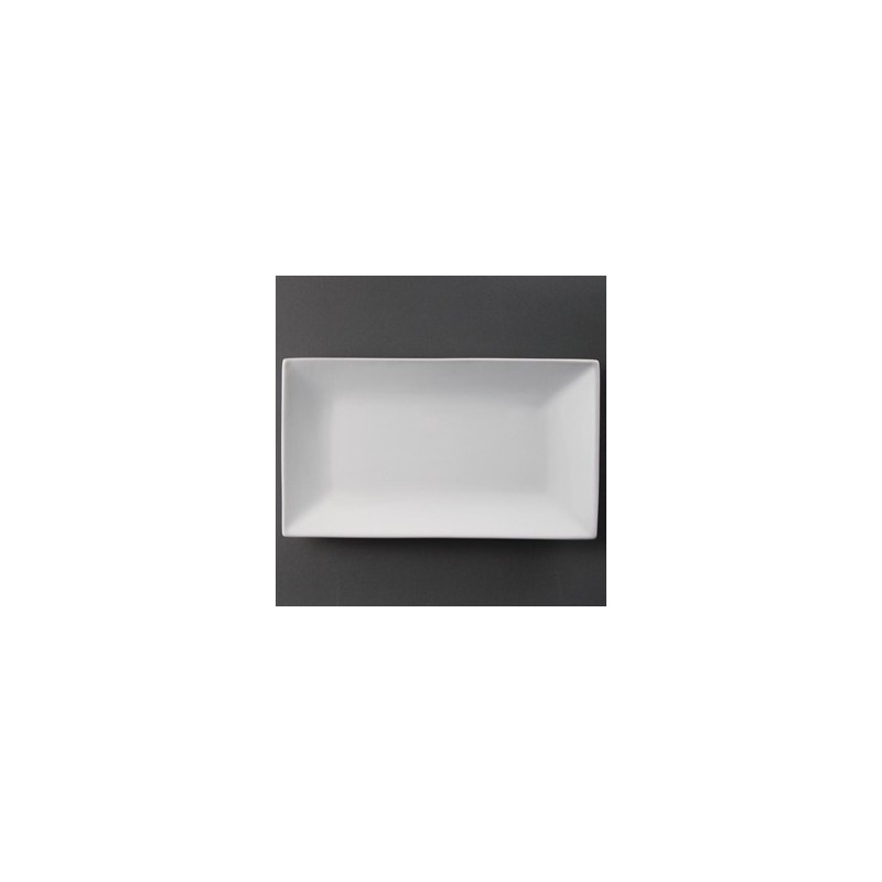 Plat rectangulaire de service 310 x 180mm olympia for Service de table rectangulaire