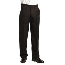 Pantalon noir de service homme 76cm