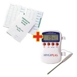 Offre speciale : Thermometre Multistem Hygiplas et Journal de temperatures