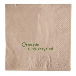 Serviettes double epaisseur en papier recycle