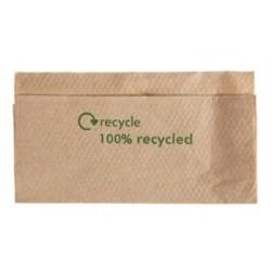Serviettes 1 pli en papier recycle avec distributeur