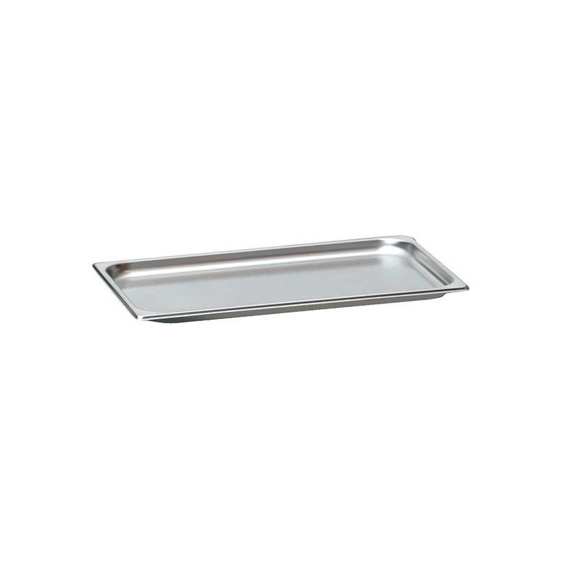 Bac gn en inox gn 1 1 20 mm gastromastro group sas for Bac inox cuisine professionnelle