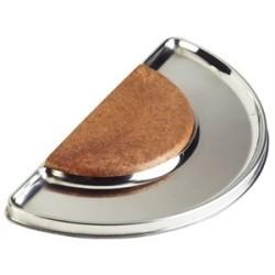 Planche à découper de bar en acier inoxydable pro Gastro