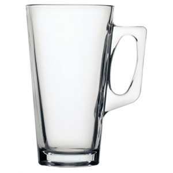 Tasse à café haute en verre pro Gastro