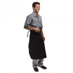 TABLIER DE CHEF NOIR pro Gastro