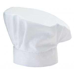Toque blanche (25 cm) pro Gastro
