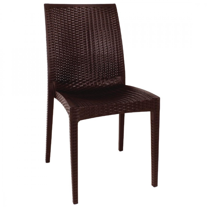lot chaises en rotin gris anthracite gastromastro group sas. Black Bedroom Furniture Sets. Home Design Ideas