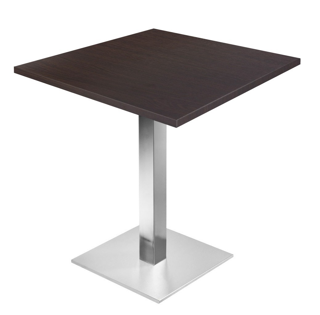 Table Et Chaise Pour Restaurant.Table De Restaurant Wenge O60 Base Ultra
