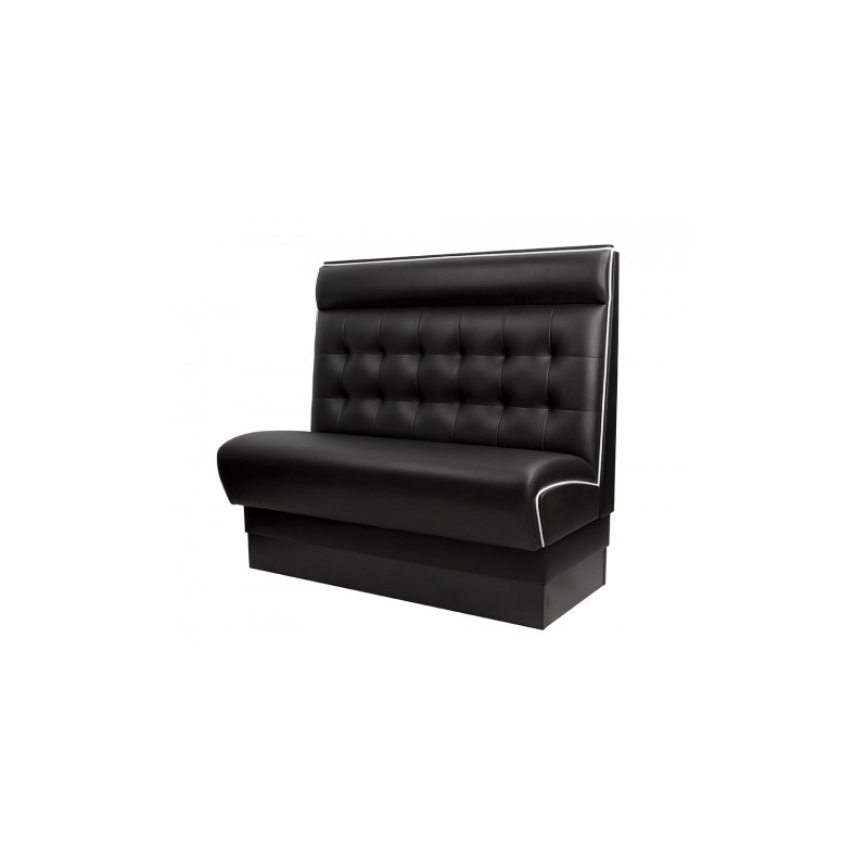 banquette de bar model americain noir gastromastro group sas. Black Bedroom Furniture Sets. Home Design Ideas