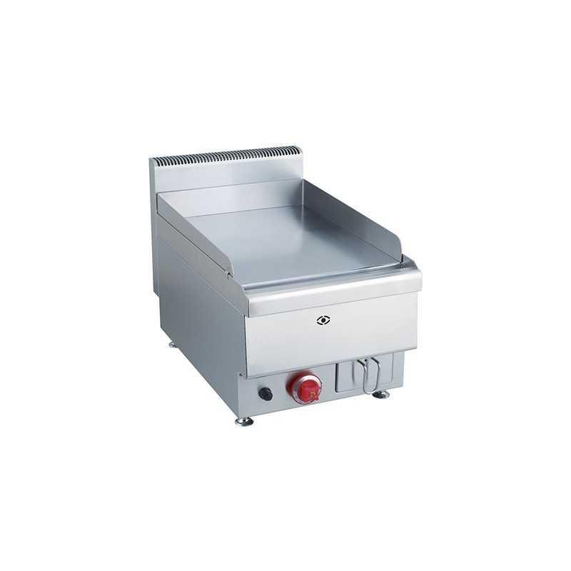 Plaque à snacker gaz chromé simple MBM1000 mm