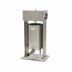 Poussoir manuel vertical en inox, 12 litres