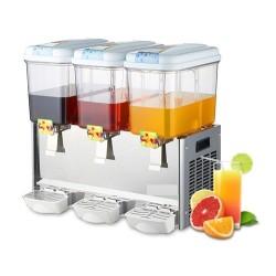 Distributeur réfrigérée de jus de fruit 3*12 litres