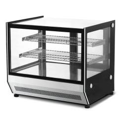 Vitrine réfrigérée à poser - Paiement 4X - 202 L. - 2 étagères - Avec éclairage - Classe N