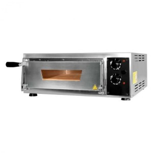Four pizzas professionnel électrique - Made in Italy - Thermostat 350 °C - Paiement 4X - 1 x 34 cm