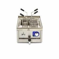 Plaque de cuisson gaz 1/2 lisse et 1/2 rainurée -Top-