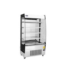 Vitrine réfrigérée libre-service - Murale - Inox - 1000 x 700 x 1830 mm - 480 L.
