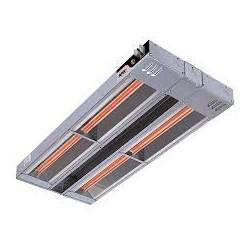 Présentoir chauffant incliné - Double niveau largeur 1524mm