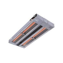 Rampe chauffante infrarouge avec eclairage 1219mm