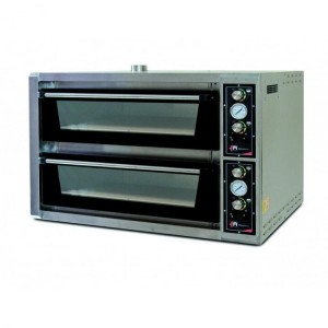 Four pizzas professionnel - LARGE LUX - 230V / 380V - 2 x 6 x 34 cm