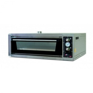 Four pizzas professionnel - LARGE LUX - 230V / 380V - 6 x 34 cm