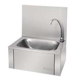 Lave-mains - Inox + crédence