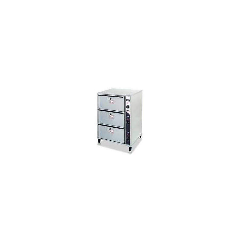 tiroir chauffant encastrable 2 tiroirs gastromastro. Black Bedroom Furniture Sets. Home Design Ideas