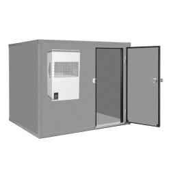 Chambre froide positive - 1200 x 2100 x 2010 - 3.7 m³ - Classe T