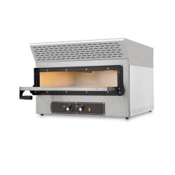 Four 2 pizzas 30 cm - équipé d'une hotte d'extraction de fumée