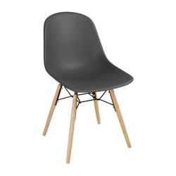 Chaise bistro noir
