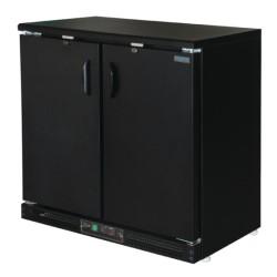 Arrière-bar réfrigéré - 2 portes battantes - 196 litres - Garantie 2 ans - Classe N