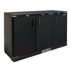 Arrière-bar réfrigéré - 3 portes battantes - 198 litres - Classe N