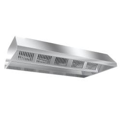 Hotte de plafond motorisée - Paiement 4X - 1600 (L) x 1500 (P) mm - Variateur inclus