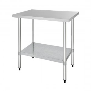 Table inox - AISI 430 - 900 (L) x 600 (P) x 900 (H) mm