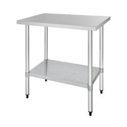 Table inox - AISI 430 - 900 (L) x 600 (P) x 900 (H) mm