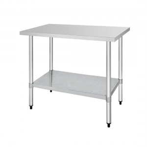 Table inox - AISI 430 - 1200 (L) x 600 (P) x 900 (H) mm