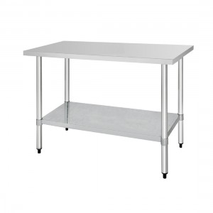 Table inox - AISI 430 - 1500 (L) x 600 (P) x 900 (H) mm