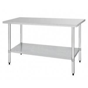 Table inox - AISI 430 - 1800 (L) x 600 (P) x 900 (H) mm