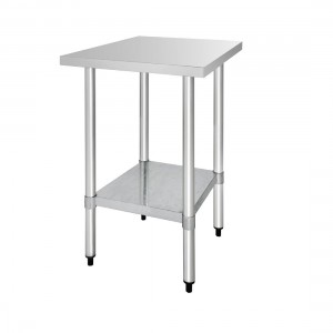 Table inox - AISI 430 - 600 (L) x 700 (P) x 900 (H) mm