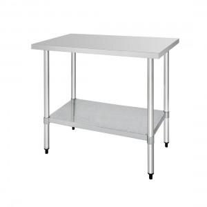 Table inox - AISI 430 - 1200 (L) x 700 (P) x 900 (H) mm