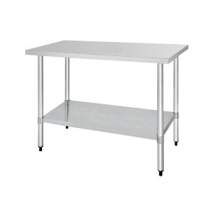 Table inox - AISI 430 - 1500 (L) x 700 (P) x 900 (H) mm