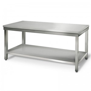 Table inox - AISI 201 - 1600 (L) x 700 (P) x 900 (H) mm