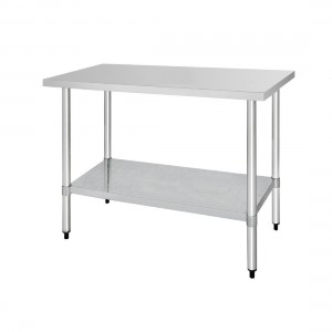 Table inox - AISI 430 - 1800 (L) x 700 (P) x 900 (H) mm