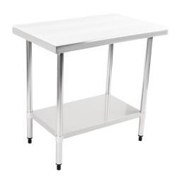 Table de découpe - AISI 201 - 500 (L) x 500 (P) x 900 (H) mm