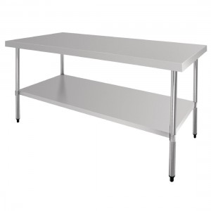 Table inox - AISI 430 - 1800 (L) x 900 (P) x 900 (H) mm