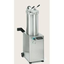 Poussoir à saucisses - Hydraulique - PREMIUM - Vertical - 20 L. - Inox - TALSA - Boucherie