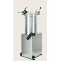 Poussoir à saucisses - Hydraulique - PREMIUM - Vertical - 35 L. - 230 / 380 V. - TALSA - Boucherie