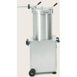 Poussoir à saucisses - Hydraulique - PREMIUM - Vertical - 50 L. - 230 / 380 V. - TALSA - Boucherie