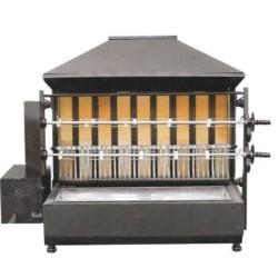 Rôtissoire professionnelle - Garantie 2 ans - Au feu de bois ou charbon argentin - 2 broches / 10 poulets
